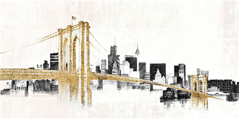 Cuadro canvas new york city collection - Cuadros serigrafiados - Objetos de Decoración