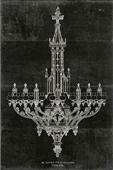 Cuadro canvas figurativo ornamental metal work