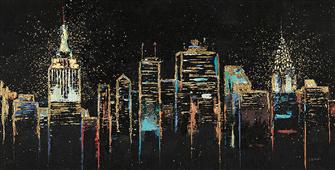 Cuadro canvas paisaje cityscape