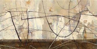 Cuadro canvas abstracto across the desert