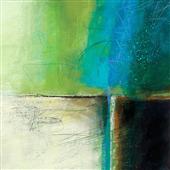 Cuadro canvas abstracto water