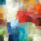 Cuadro canvas abstracto estaciones