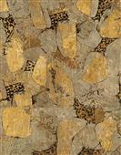 Cuadro canvas abstracto piedra dorada II