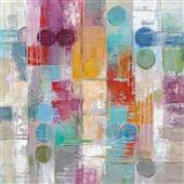 Cuadro canvas abstracto summer rain