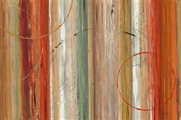 Cuadro canvas abstracto spiced II