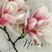 Cuadro canvas flores sonnet crop relax