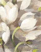 Cuadro canvas flores tulip delight II