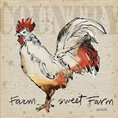 Cuadro canvas moderno farm life V