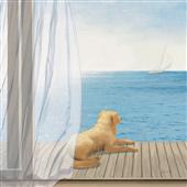 Cuadro canvas figurativo blue breeze