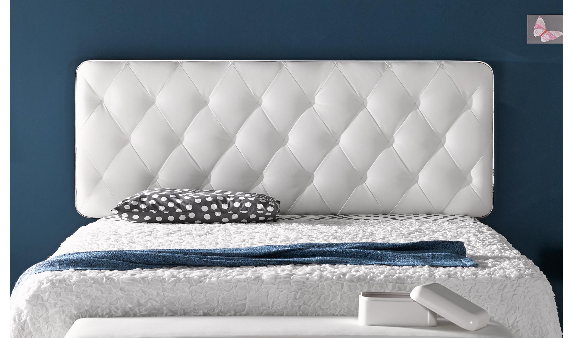 Cabecero moderno soverom en cosas de arquitectoscosas de - Cabeceros de cama de diseno ...