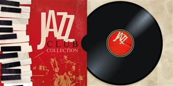 Cuadro canvas moderno jazz club collection