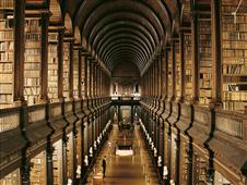 Cuadro canvas library trinity college dublin
