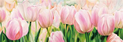 Cuadro canvas flores primavera
