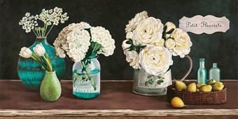 Cuadro canvas flores petit fleuriste