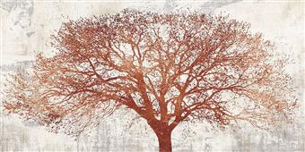 Cuadro canvas moderno tree of bronze