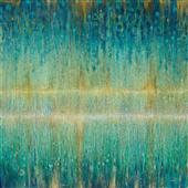 Cuadro canvas abstracto rain abstract 1