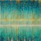 Cuadro canvas abstracto rain abstract 1