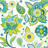 Cuadro canvas fun florals white crop - Cuadros serigrafiados - Objetos de Decoración