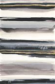 Cuadro canvas abstracto gilded gray IV