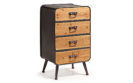 Cómoda industrial Halie - Cómodas Vintage - Muebles Vintage