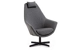 Butaca moderna Robert Gris - Butacas de Diseño - Muebles de Diseño