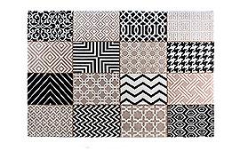 Alfombra patchwork Steppe grises - Alfombras de Patchwork - Objetos de Decoración