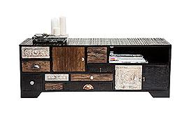Mueble Tv vintage Finca 3 puertas 9 cajones