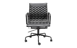 Silla escritorio Wave negro - Sillones de Despacho de Diseño - Muebles de Diseño