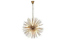 Lámpara de techo Beam Brass