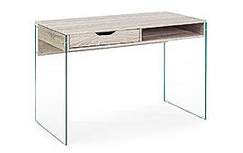 Mesa de escritorio diseño Armos natural  - Mesas de Despacho y Escritorio de Diseño - Muebles de Diseño