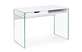 Mesa de escritorio diseño Armos blanco - Mesas de Despacho y Escritorio de Diseño - Muebles de Diseño