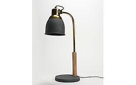 Lámpara escritorio dandy gris - Lámparas de Escritorio - Iluminación