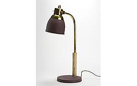 Lámpara escritorio marsala - Lámparas de Escritorio - Iluminación
