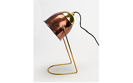 Lámpara sobremesa chocolate - Lámparas de Sobremesa - Iluminación