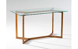 Mesa de escritorio vintage Indo velado
