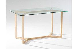 Mesa de escritorio vintage Indo Natural