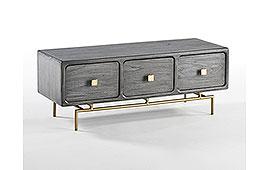 Mueble de TV vintage Chachani gris - Muebles de Tv Vintage - Muebles Vintage