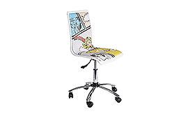 Silla de escritorio Young comics - Sillones de Despacho de Diseño - Muebles de Diseño