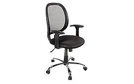 Silla de escritorio Ford Negro  - Sillones de Despacho de Diseño - Muebles de Diseño