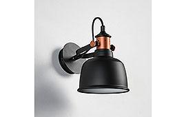 Aplique Locke negro - Apliques y Plafones - Iluminación