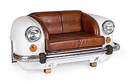 sofá industrial Ambassador Blanco