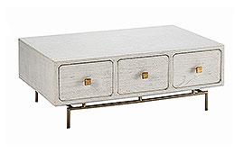 Mesa de centro vintage Jonsu blanca