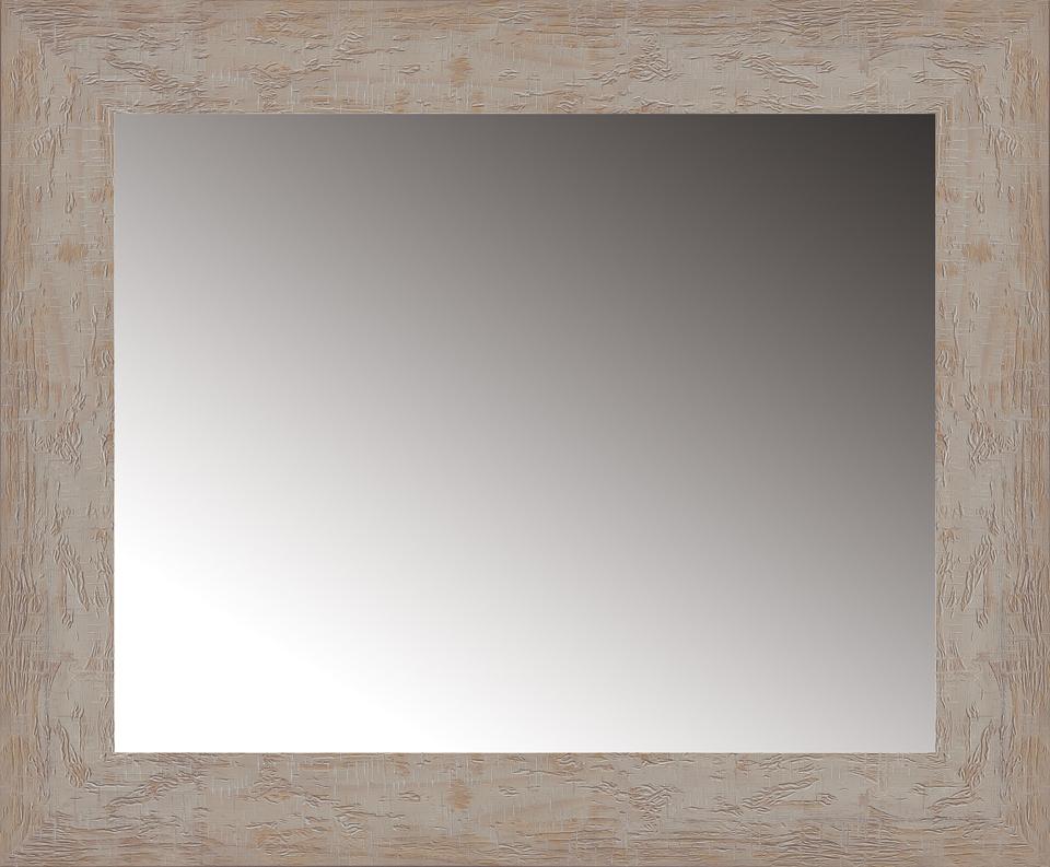Espejo rectangular rústico en Portobellostreet.es