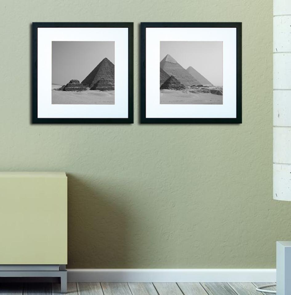 Cuadro Blanco Y Negro Piramides En Portobellostreet Es # Muebles Piramides
