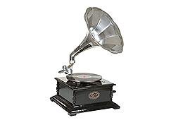 Gramófono Cuadrado Berliner