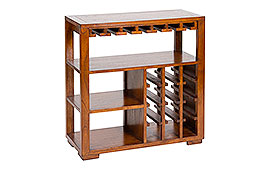 Mueble bar colonial Elba - Muebles Bar Coloniales y Rústicos - Muebles Coloniales y Muebles Rústicos