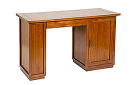 Mesa de despacho colonial Eno - Mesas de Despacho y Escritorios Coloniales - Muebles Coloniales y Muebles Rústicos