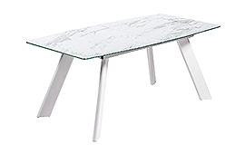 Mesa de comedor extensible moderna Marble