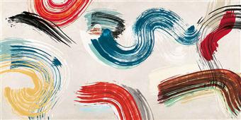 Cuadro canvas abstracto motionade I