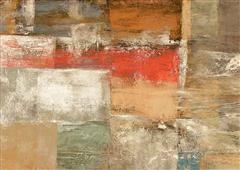 Cuadro canvas abstracto aventure